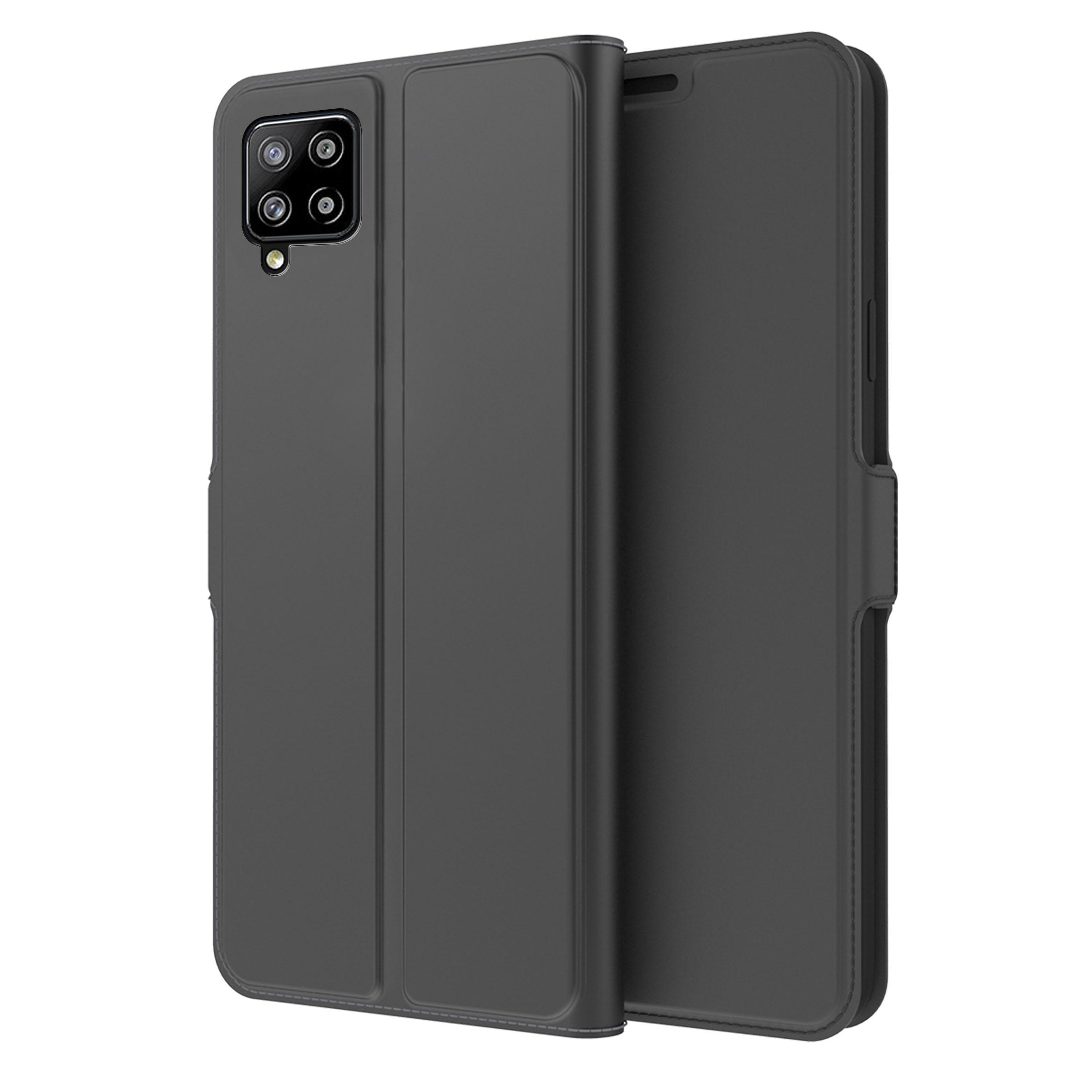 Slim Card Wallet Samsung Galaxy A42 5G musta