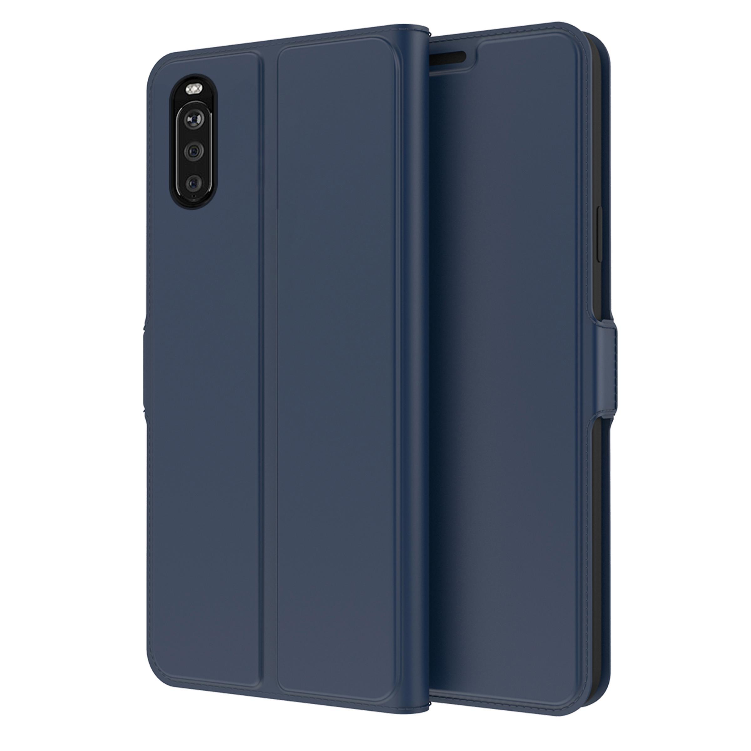 Slim Card Wallet Sony Xperia 10 III sininen