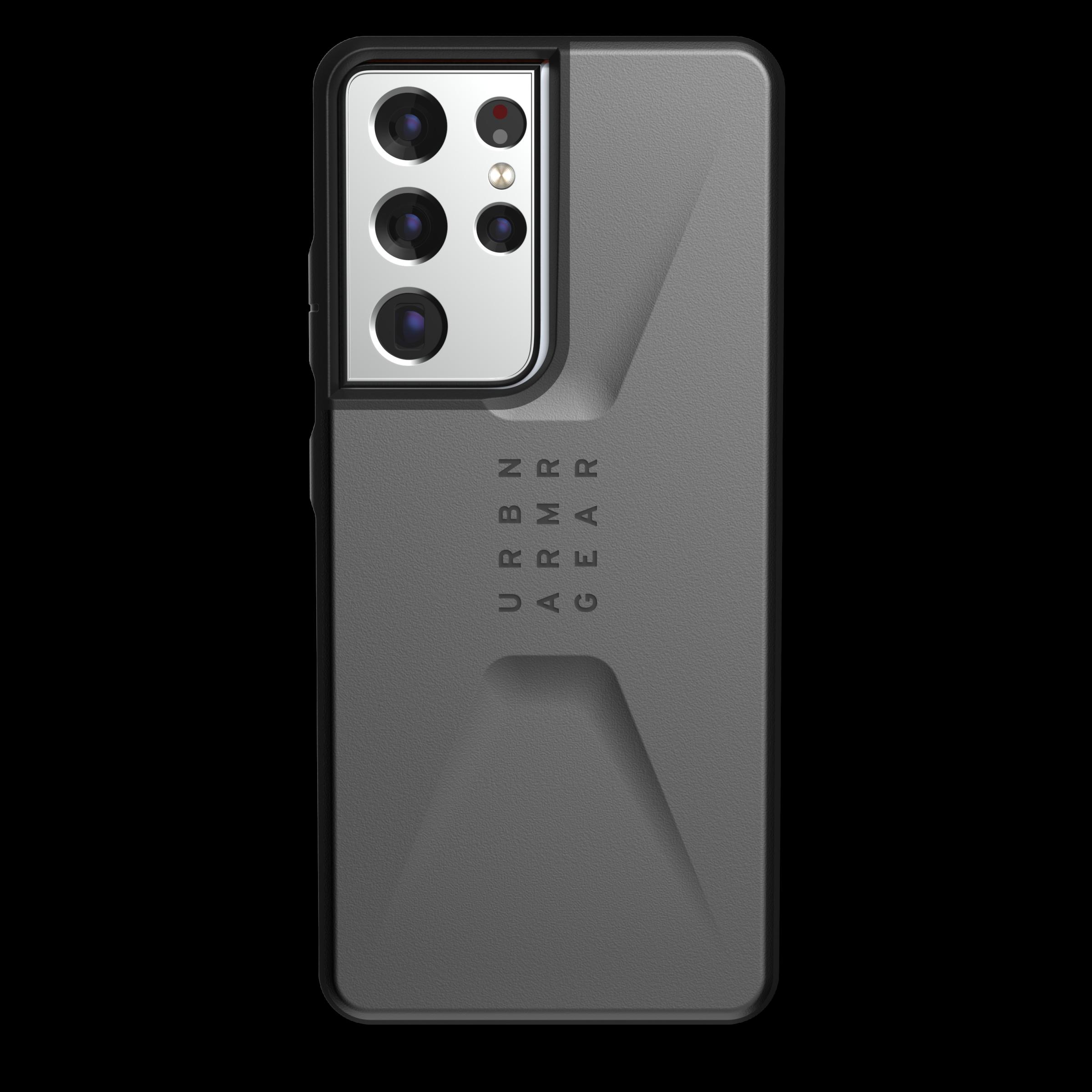 Civilian Series Case Galaxy S21 Ultra Silver