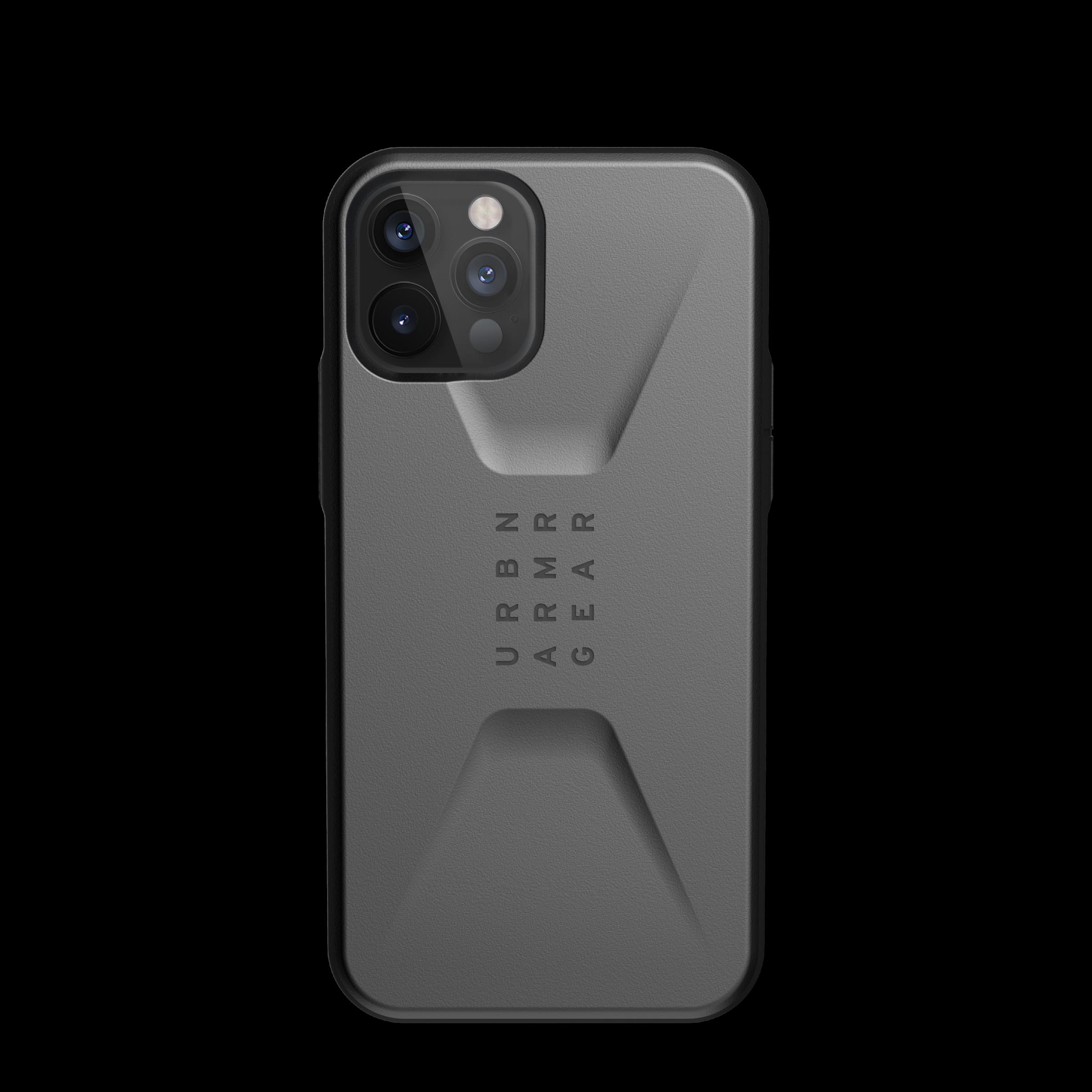Civilian Series Case iPhone 12 Pro Max Silver