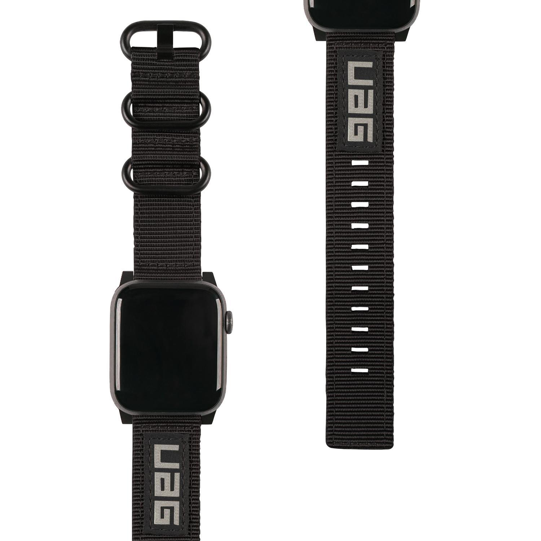 Nato Eco Strap Apple Watch 42/44/45 mm Black