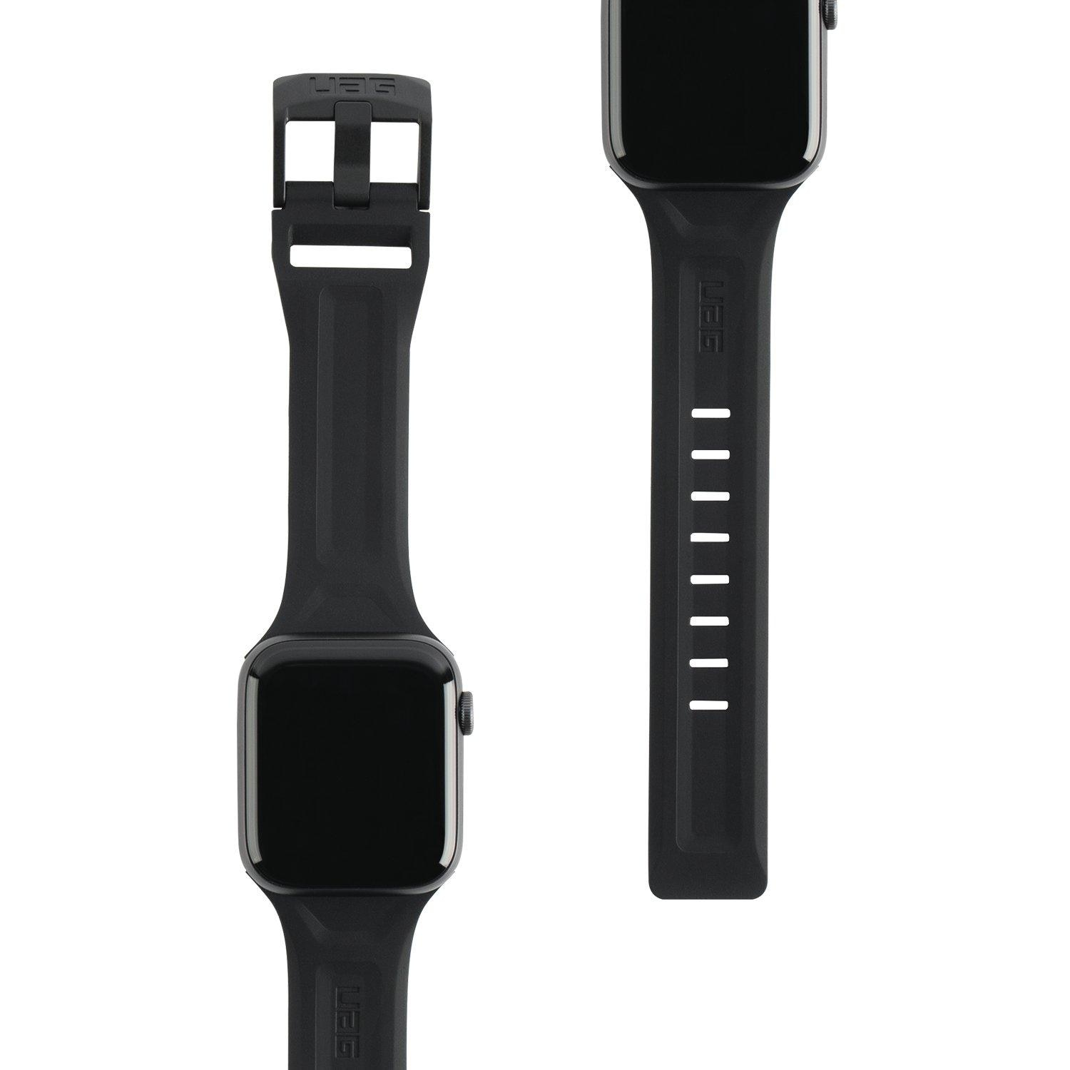 Scout Silicone Strap Apple Watch 42/44/45 mm Black