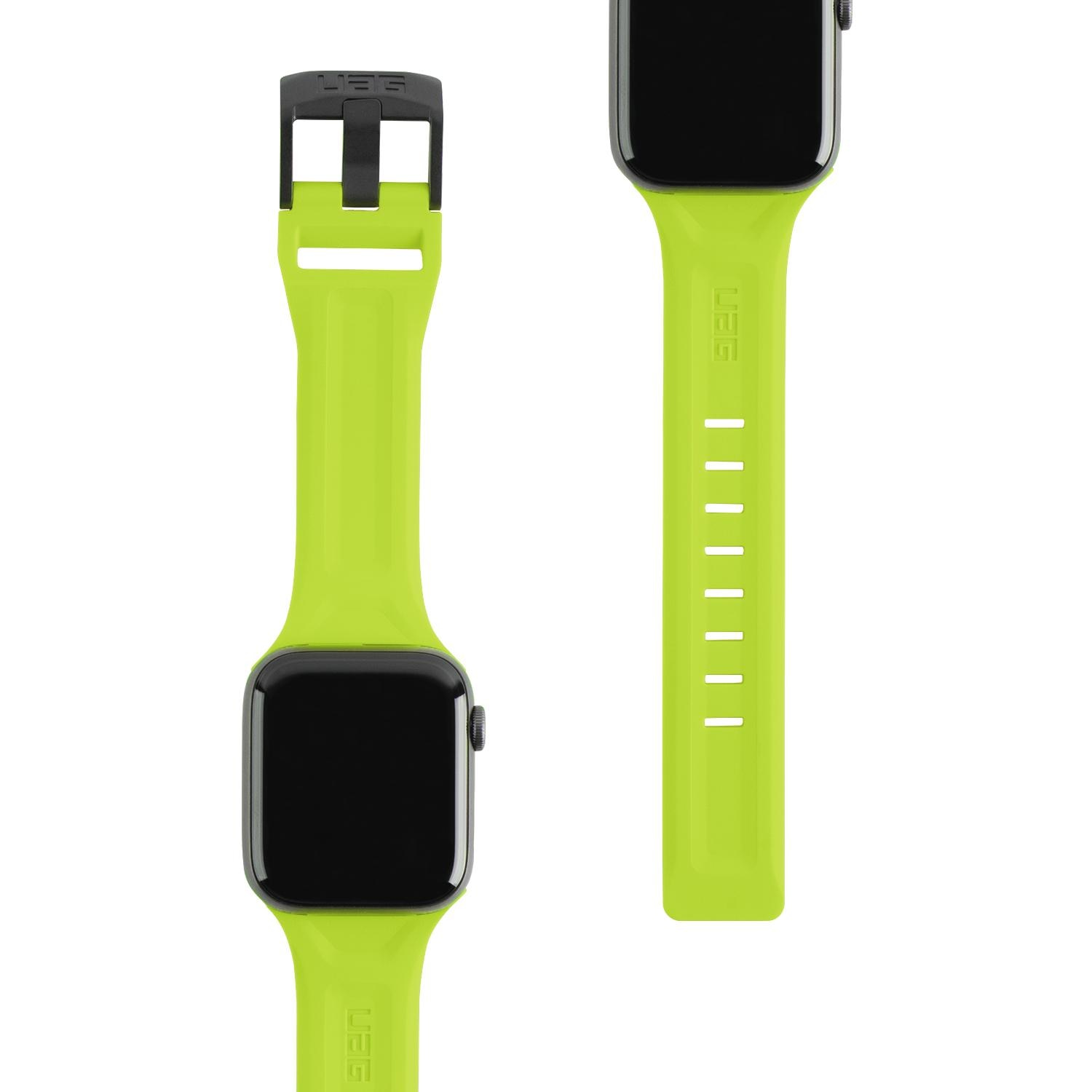 Scout Silicone Strap Apple Watch 42/44/45 mm Neon Green