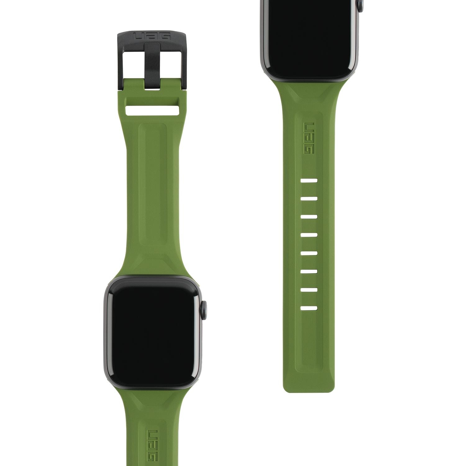 Scout Silicone Strap Apple Watch 42/44/45 mm Olive